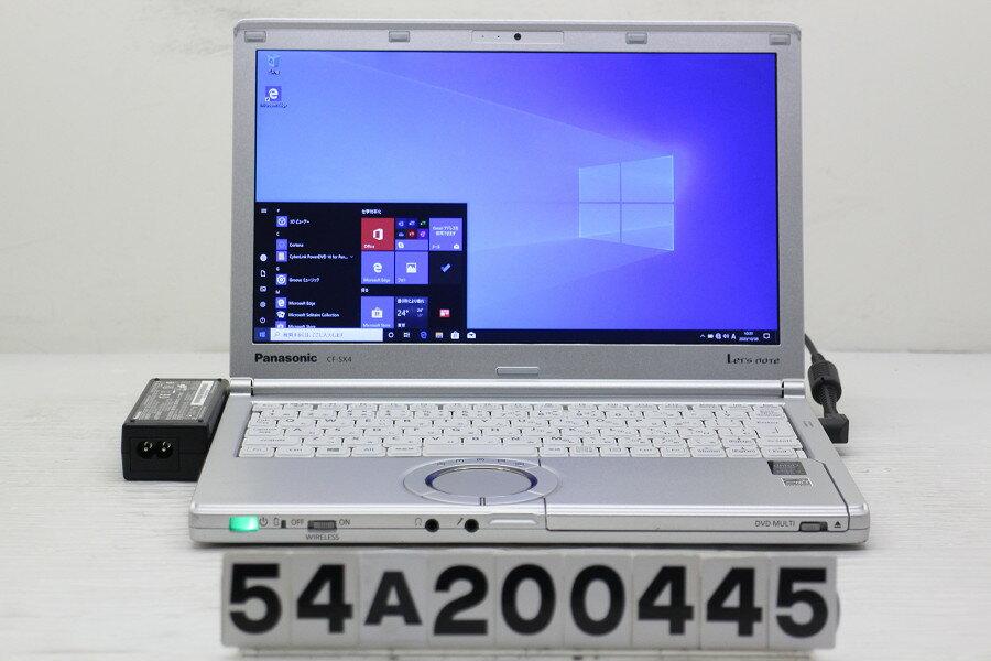 パソコン, ノートPC Panasonic CF-SX4EMHCS Core i5 5300U 2.3GHz4GB256GB(SSD)Multi12.1 WWXGA(1600x900)Win1020201010