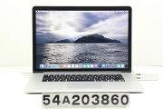 AppleMacBookProRetinaA1398Late2013Corei74850HQ2.3GHz/16GB/512GB(SSD)/15.4W/QWXGA+(2880x1800)【中古】【20201030】