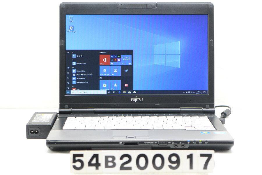 パソコン, ノートPC  LIFEBOOK S752F Core i5 3340M 2.7GHz4GB128GB(SSD)14WFWXGA( 1366x768)Win1020201118