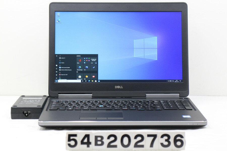 パソコン, ノートPC DELL Precision 7520 Core i7 6820HQ 2.7GHz16GB256GB(SSD)15.6WFHD (1920x1080)Win10Quadro M220020201128