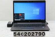 hpZBook14uG5Corei78550U1.8GHz/16GB/512GB(SSD)/14W/FHD(1920x1080)/Win10/RadeonProWX3100【中古】【20201230】