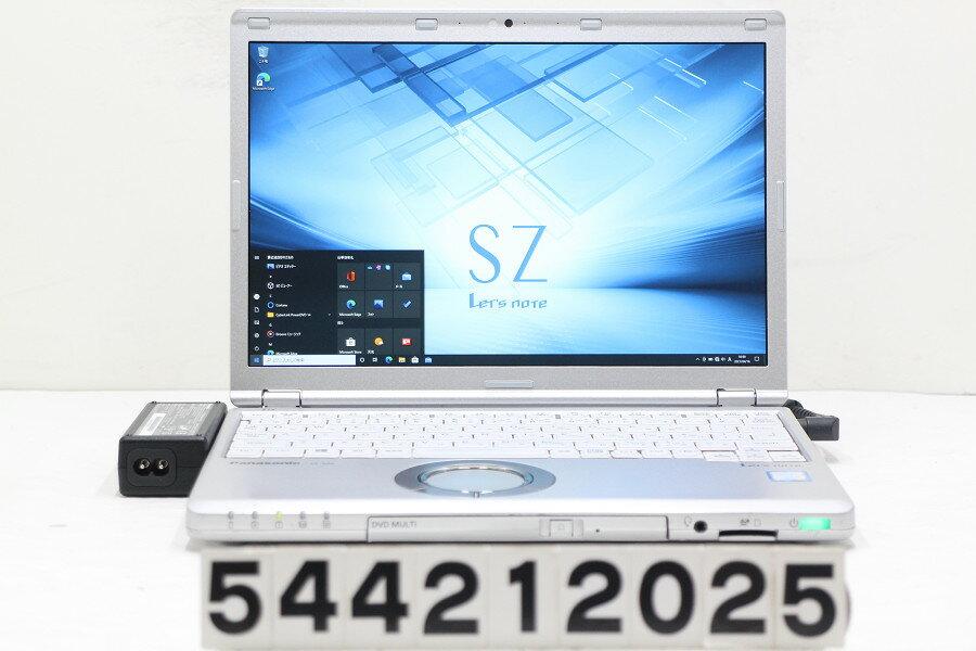 パソコン, ノートPC Panasonic CF-SZ6RDQVS Core i5 7300U 2.6GHz8GB256GB(SSD)Multi12.1 WWUXGA(1920x1200)Win10202104 17