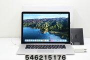 AppleMacBookProRetinaA1398Mid2015Corei74980HQ2.8GHz/16GB/1TB(SSD)/15.4W/QWXGA+(2880x1800)/RadeonR9M370X【中古】【20210706】