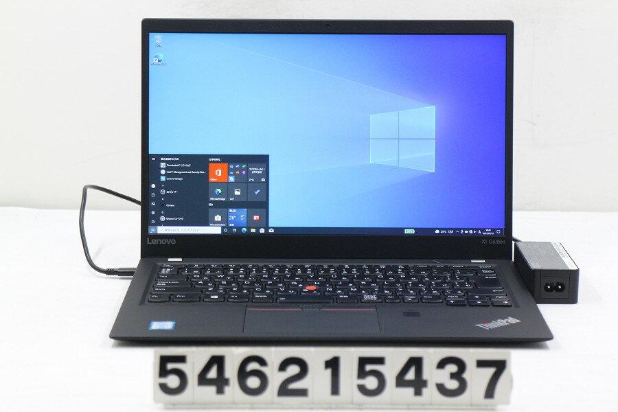 パソコン, ノートPC Lenovo ThinkPad X1 Carbon 5th Gen Core i5 7300U 2.6GHz8GB256GB(SSD)14WFHD(19 20x1080)Win1020210720
