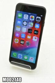 白ロムauAppleiPhone7128GBiOS12.4.1BlackMNCK2J/A初期化済【m002140】【中古】【K20190912】