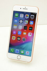 SIMフリーAppleiPhone8Plus64GBiOS12.4Gold3D097J/A初期化済【m002450】【中古】【K20191009】