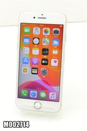 SIMフリーAppleiPhone864GBiOS13.3SilverMQ792J/A初期化済【m002714】【中古】【K20191226】
