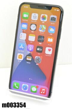 SIMフリー Apple iPhoneX 256GB iOS14 Space Gray NQC12J/A 初期化済 【m003354】 【中古】【K20200918】
