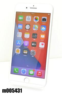 白ロム SoftBank SIMロック中 Apple iPhone8 Plus 64GB iOS14 Silver MQ9L2J/A 初期化済 【m005431】 【中古】【K20200918】