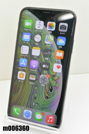 白ロムSIMフリーauSIMロック解除済AppleiPhoneXs64GBiOS14.2Black3D922J/A初期化済【m006360】【中古】【K20201215】