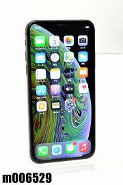 白ロムSIMフリーdocomoSIMロック解除済AppleiPhoneXs256GBiOS14.2スペースグレイMTE02J/A初期化済【m006529】【中古】【K20210104】