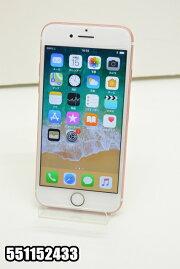 白ロムauAppleiPhone7128GBiOS11.2.5ローズゴールドMNCN2J/A初期化済【551152433】【中古】【K20180316】