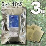 【送料無料】 小川生薬 香川産みんなのウラジロガシ茶 国産(香川産) 5g×40袋 無漂白ティーバッグ 3個セット