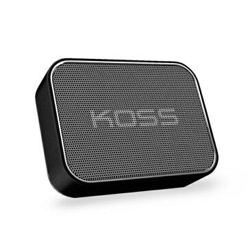 【訳あり品】BluetoothスピーカーKOSS BTS1K ブラック(国内正規品)