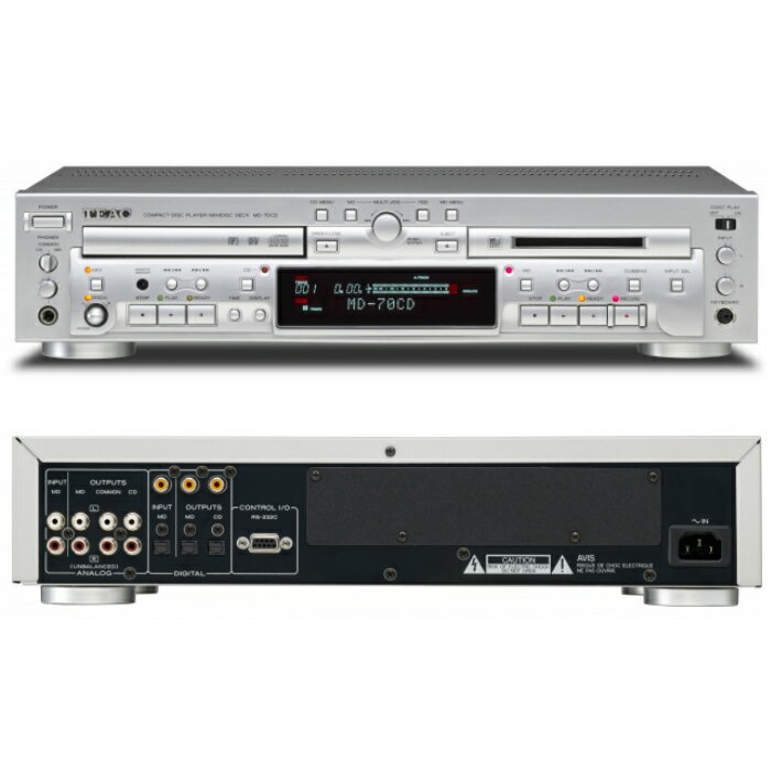 コンポ用拡張ユニット, CDプレーヤー CDMDTEAC MD-70CD()