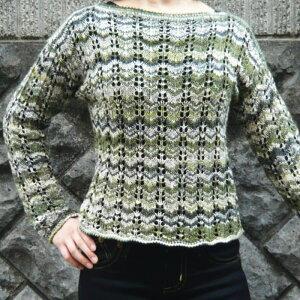 ナイフメーラで編む山路編みセーター ニットキット 内藤商事【ネコポス便利用不可】