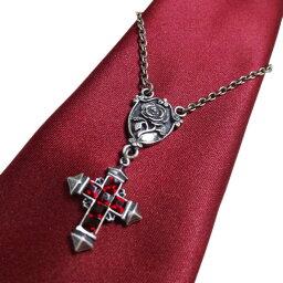 【薔薇の紋章】十字架 ネクタイアクセサリー