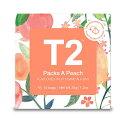 T2 tea パックスアピーチ Packs A Peach Teabag 3.5g×10P 紅茶 テ