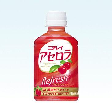 【サントリー】 ニチレイ アセロラリフレッシュ 280ml ペットボトル 1ケース 24本入x【RCP】05P25Oct14