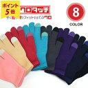 【ポイント5倍】【抗菌手袋】洗える/日本製/タッチパネル対応
