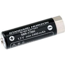 スタンダードSBR-17MHニッケル水素電池【STANDARD/STANDARDHORIZON/スタンダードホライゾン/SR100/SR70/バッテリー/充電池/】