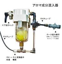 アロマ成分混入器各部の名称