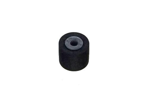 カセットデッキ修理パーツ ピンチローラー 外径6mm 幅5.5mm 軸内径1.5mm 1個 駆動系消耗パーツ修理交換用