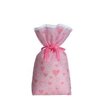 不織布 72cm×111cm(内寸87) リボン付き おもちゃ テディベア くま ぬいぐるみのラッピング袋 ギフト バッグ 敬老の日 クリスマス プレゼント用包装袋 巾着袋 布袋 大きいサイズ 贈答 材料 収納袋 簡単 かわいい 特大