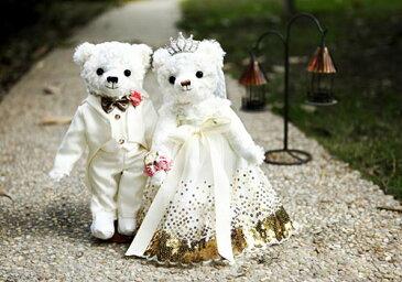 かわいい ウエディング ウエルカム ベア テディ ホワイト ドレス タキシード ブライダル グッズ アイテム 小さい クマ の ぬいぐるみ 小 ギフト 結婚 式 ふわふわ プレゼント 女性 男性 新郎 新婦 親族 ゲスト 婚礼 挙式 二次会 お人形 お祝い 贈り物 30cm