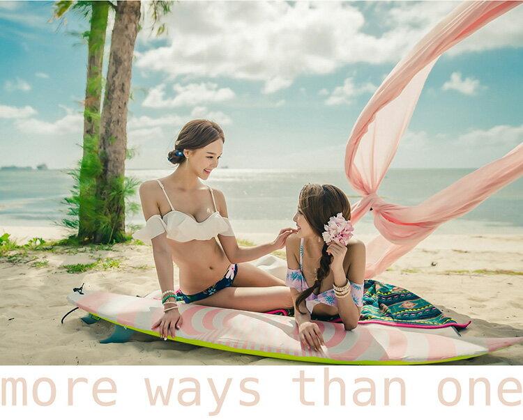 水着レディース2点セットバンドゥビキニ韓国ブランドSHEBEACHROSEGOLDBIKINI(2P)シービーチ正規品セクシーキュートハイウエストレトロおしゃれ2WAY上下別柄ワイヤー入りバスト盛れるパッド追加可パッド付きレース女の子ガーリー大人女性用