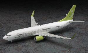 ハセガワ 1/200 旅客機 No.40 ソラシド エア ボーイング 737-800