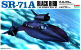 アリイ(マイクロエース) 戦闘機 1/144 No.33003 ロッキード SR-71A ブラックバード アメリカ空軍戦略偵察機