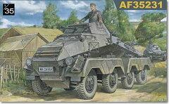 Sd.Kfz231(8-Rad)8輪重装甲車 初期型 1/35 AFVクラブ FV35231(予約:2011年12月新発売予定)