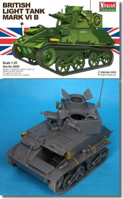 WWII イギリス Mk.VI B 軽戦車 1/35 バルカンスケールモデル No.56008(予約:2011年7月新発売...
