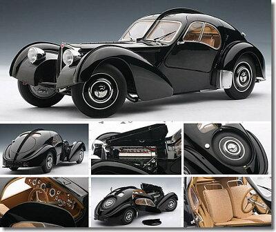 ブガッティ タイプ57S アトランティック 1936 (ブラック) 1/18 オートアート No.70941(予約...
