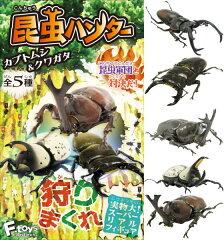 プラッツ エフトイズ FT60193 昆虫ハンター カブトムシ&クワガタ (10個入りボックス販売 ガム...