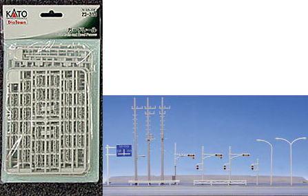 カトー ジオタウン  23-213 ガードレール  (鉄道模型)(Nゲージ)
