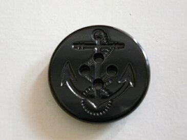 T-677 ピーコート用ボタン 20mm(黒・紺)