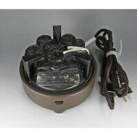 【茶道具】風炉用電気炭(裏流)強弱切替スイッチ付