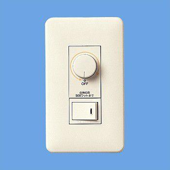 パナソニック WNP575153 フルカラームードスイッチB 片切 白熱灯ライトコントロール ロータリー式 500W 片切スイッチ・モダンプレート付