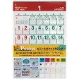 ビニールポケットカレンダー 2017年 平成29年版 シーガル 【ゆうメール可】
