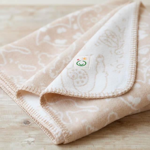 メイド・イン・アース ベビー綿毛布「夢のおまもり」