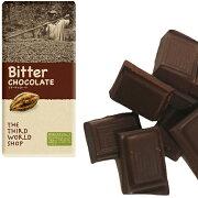 ショップ フェアトレードチョコレート ビターチョコレート