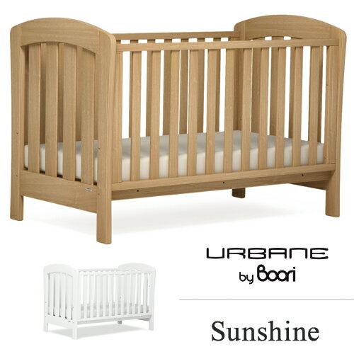 ブーリ BOORI 6歳までベッド サンシャイン Sunshine 3in1 ベビーベッド キッズベッド アーモンド ホワイト:テルショップ・ジャパン