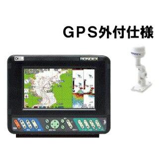繪圖器魚探測提問 Dec 他-701GP-迪 GPS 外部規格魚探測器機 GPS 天線外部數位模型彩色液晶 7 英寸寬屏液晶顯示器高亮度 LED 背光錢包大小顯示 Hondex。