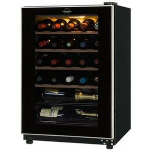 """フォルスター small size wine cellar """"FJC-85G(BK)"""" black color (FJC85GBK)"""