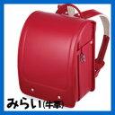 ララちゃんランドセル 2011年モデル みらい No.8 (最高級牛革製) ローズピンク 羅羅屋