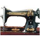 条件付送料無料 アンティークミシン ブルーバードHA-H(木製ミシンカバー付)