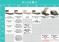 【開梱設置無料】フランスベッドグランディGR-03CDRタイプ(引き出し付き)ボトム高さ22.5cmシングルサイズ(S)フレームのみ【き】