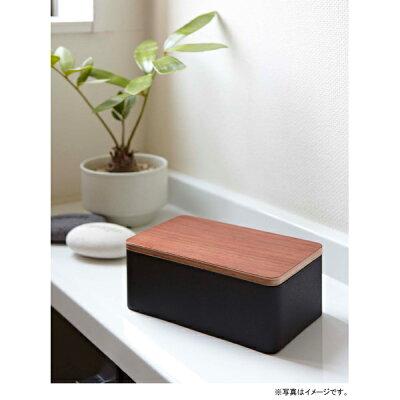 RINリン天然木ウェットシートケースブラウン7694ウェットティッシュ木製(TS-RIN-CBR)